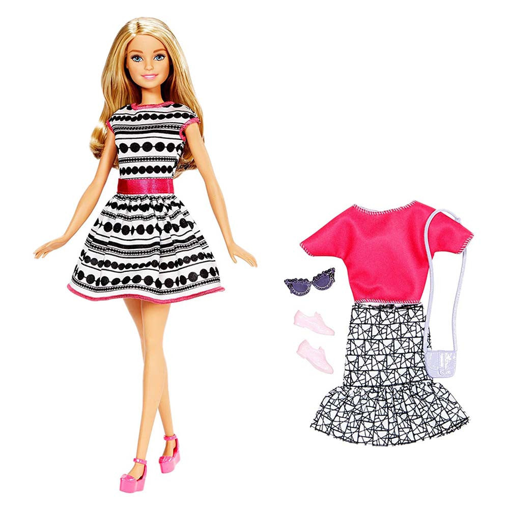 Barbie Doll Fashion Set