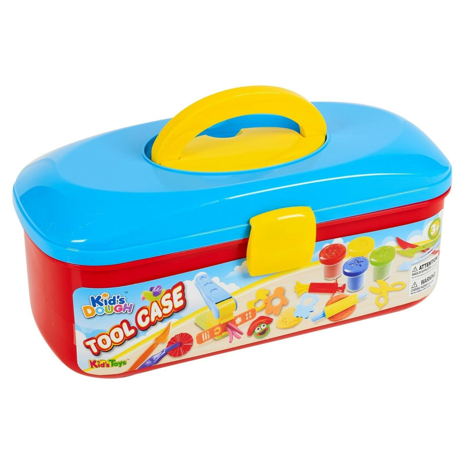 Kid's Dough Tool Case Play Dough And Accessory Playset