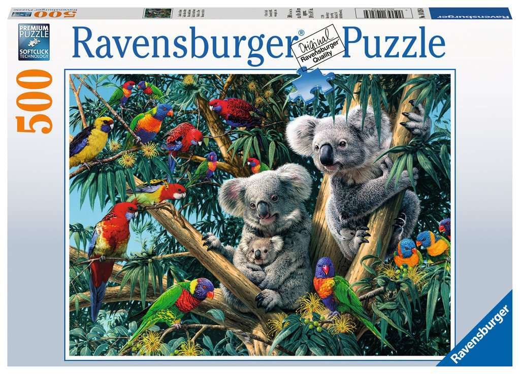Ravensberger Koalas In A Tree 500pc Jigsaw Puzzle