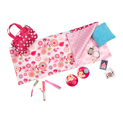 Our Generation Polka Dot Sleepover Playset