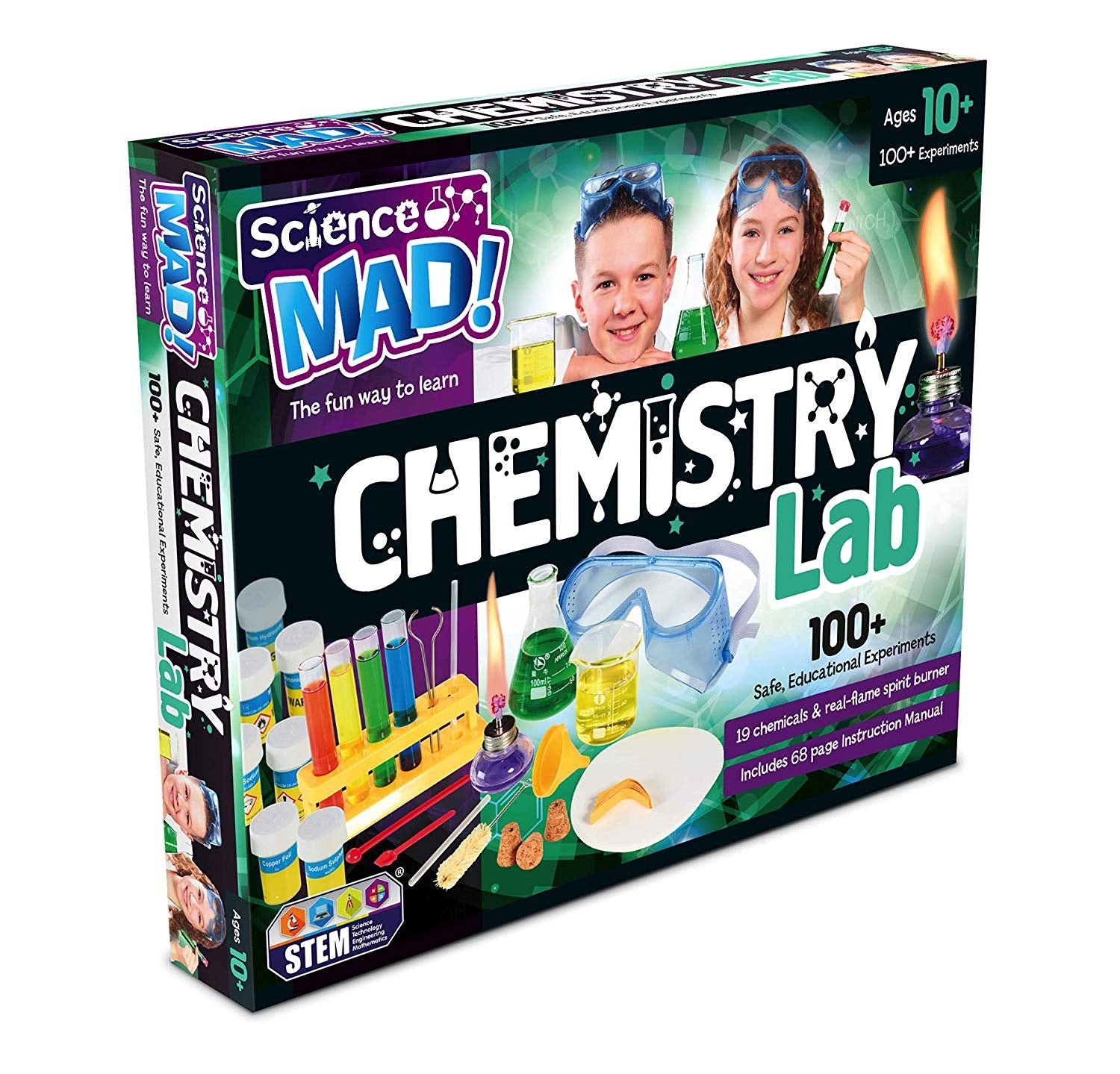 Science Mad Chemistry Lab Playset
