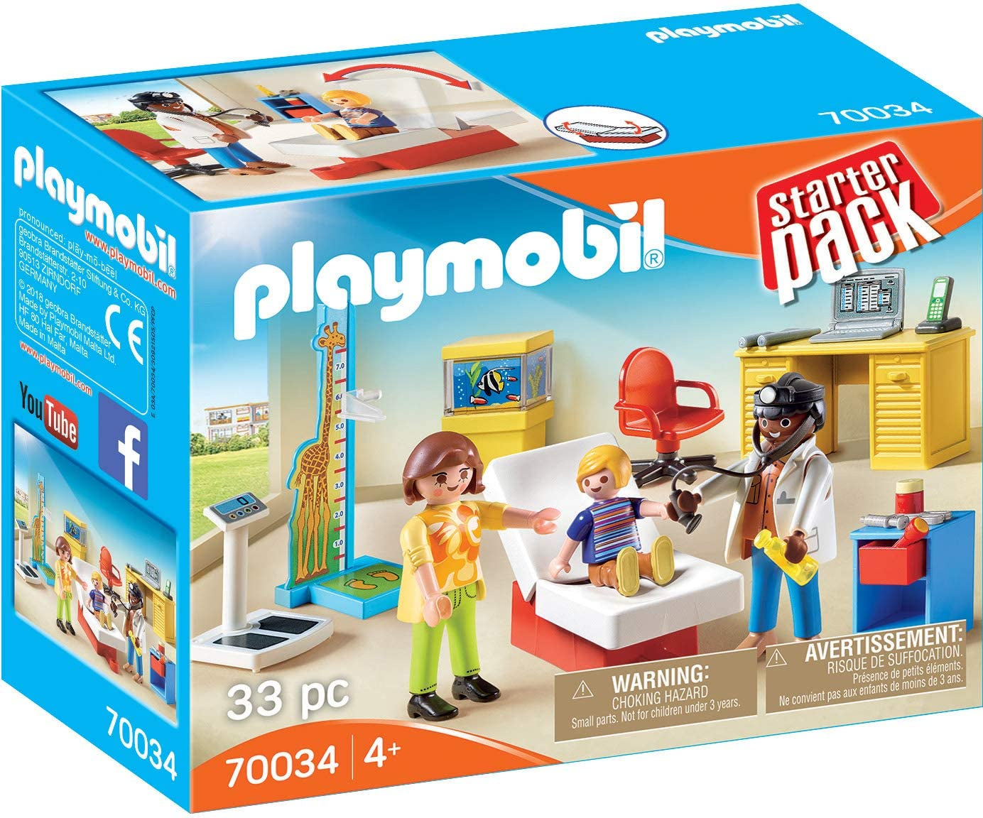Playmobil City Life 70034 Starter Pack