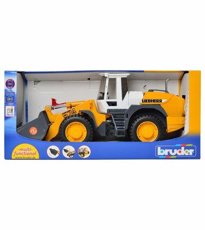 Bruder 02430 Liebherr Articulated Road Loader L574 - 1-16