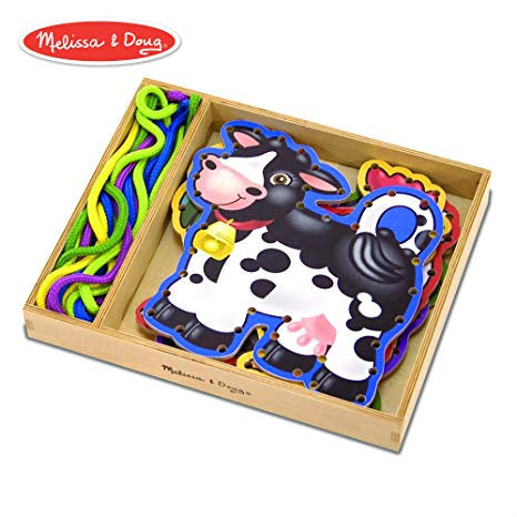 Melissa & Doug Wooden Panels & Laces