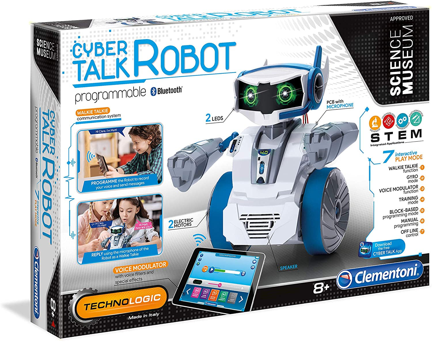 Science Museum Cyber Talk Robot