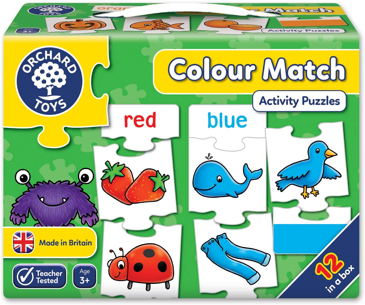 Orchard Toys Colour Match Activity Puzzles