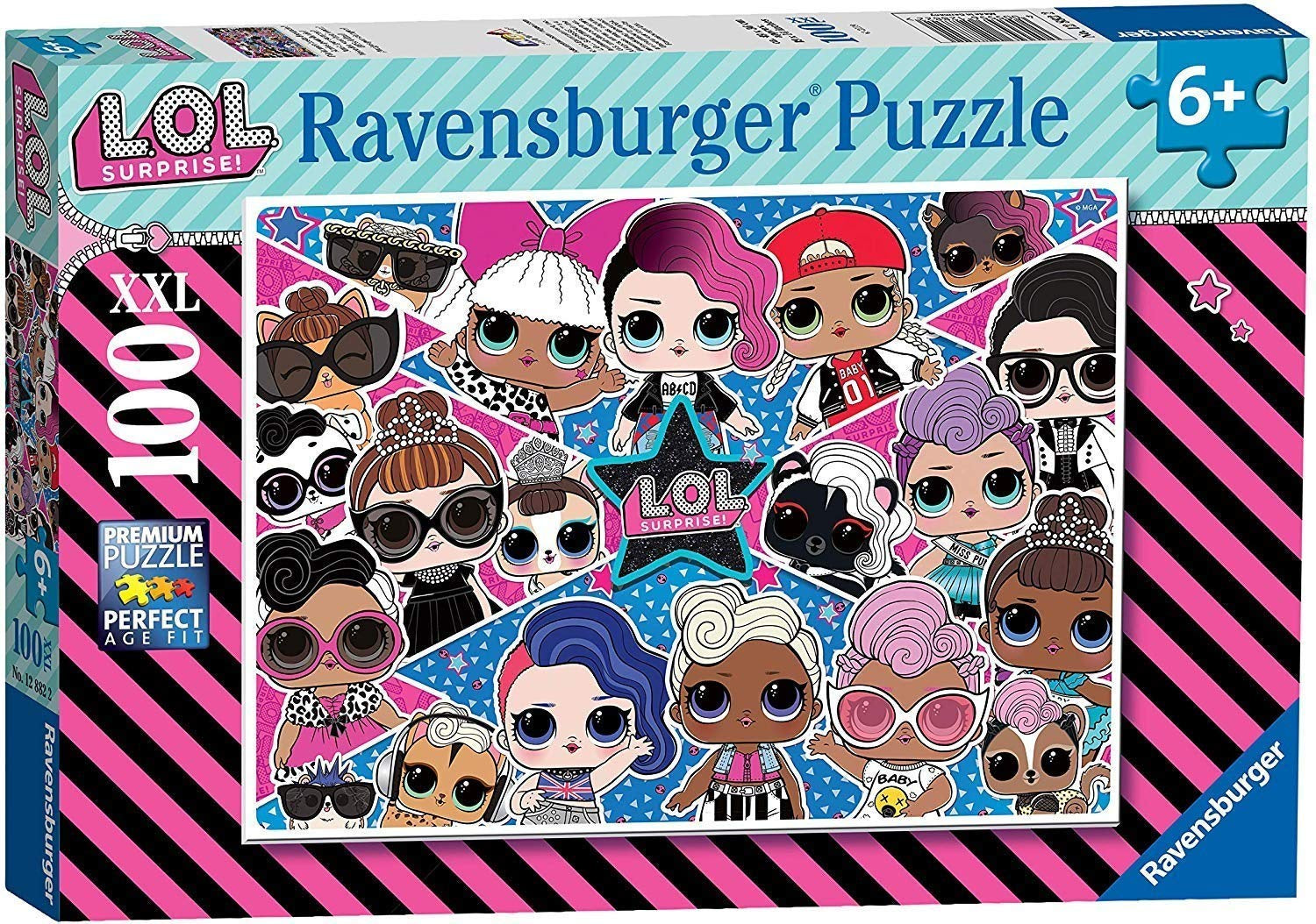 LOL Surprise! 100pc XXL Jigsaw Puzzle 12882