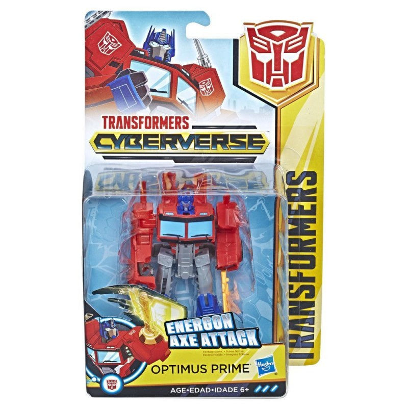 Transformers Cyberverse Action Attackers Optimus Prime