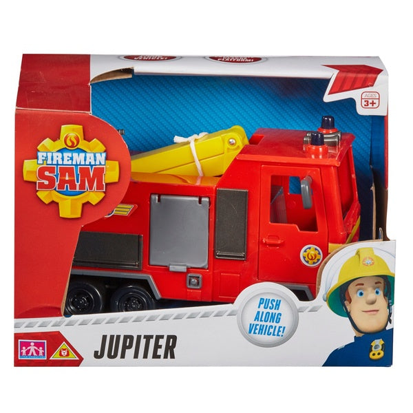 Fireman Sam Jupiter Fire Engine Vehicle