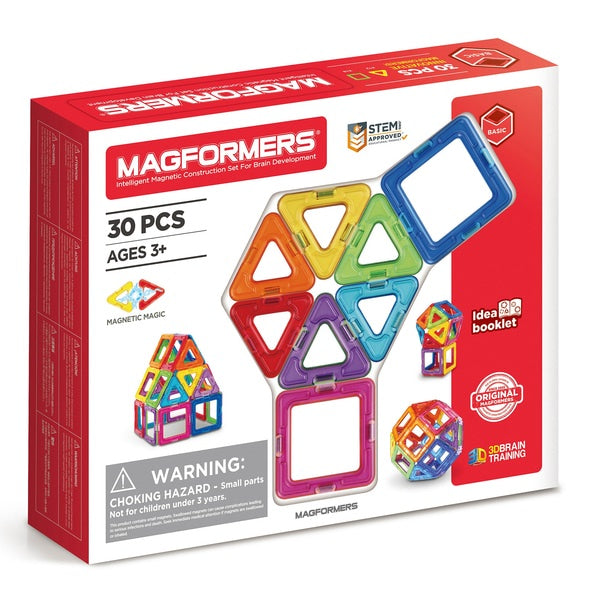 Magformers 30 Piece Construction Playset