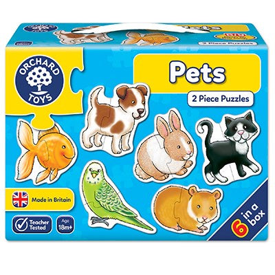 Orchard Toys Pets Jigsaw Puzzles