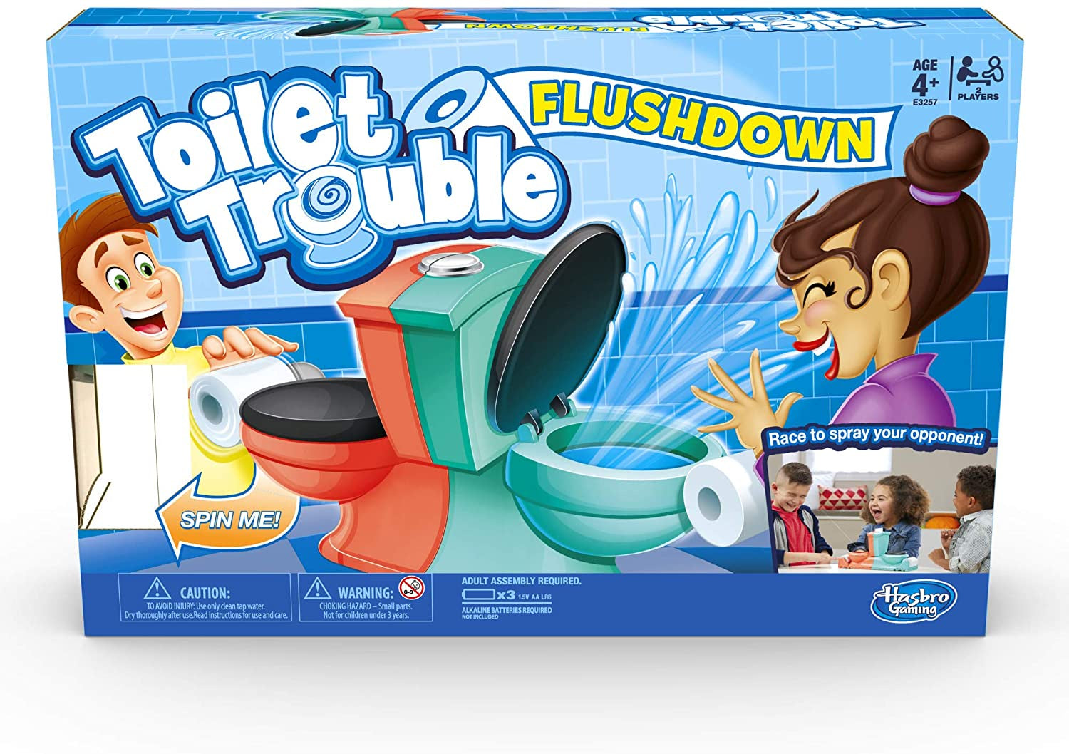 Toilet Trouble Flush Down Game