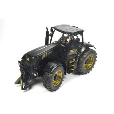 Siku JCB 8250 Limited Edition Tractor With Driver in Black And Gold 1:32