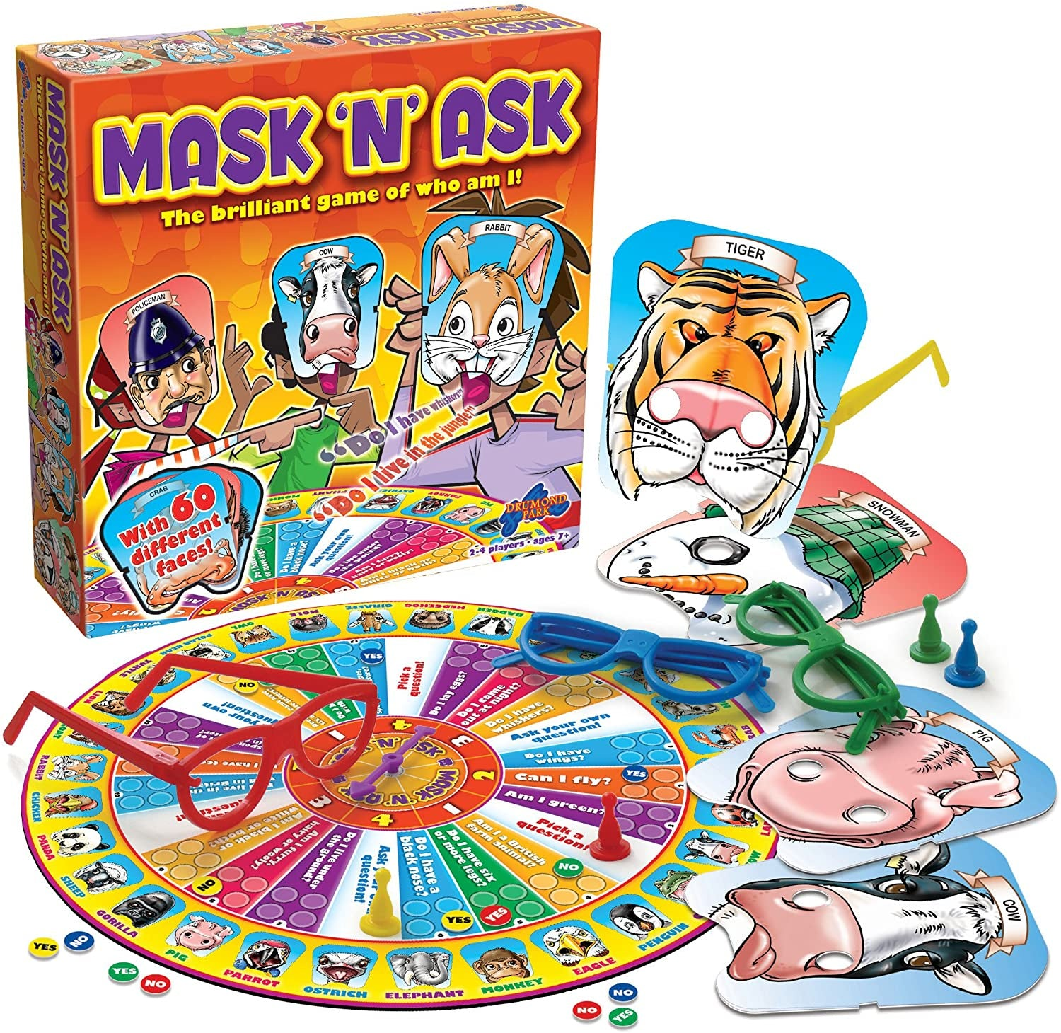 Mask N' Ask Game Board Game