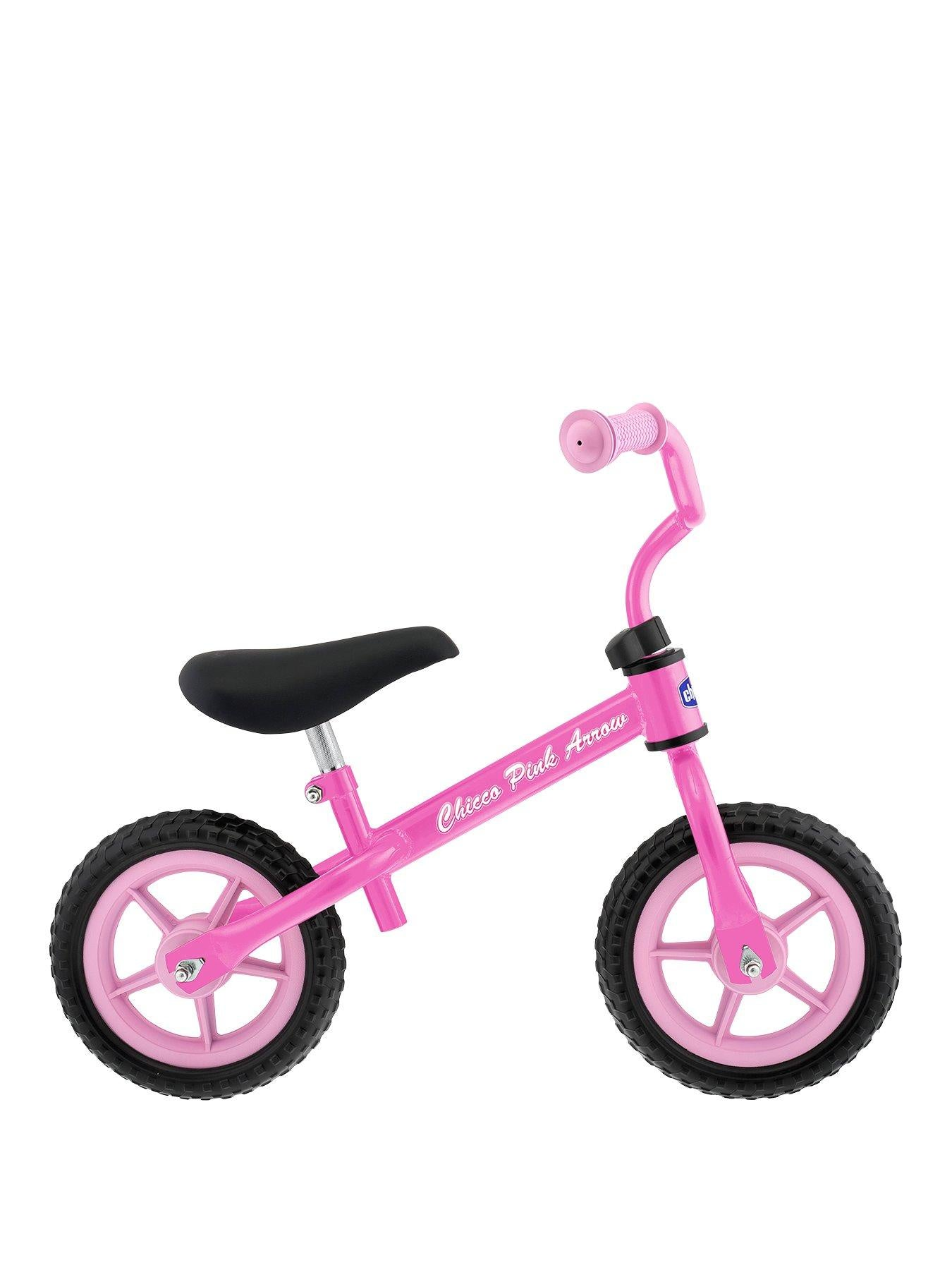 "Chicco Pink Arrow 10"" Balance Bike"