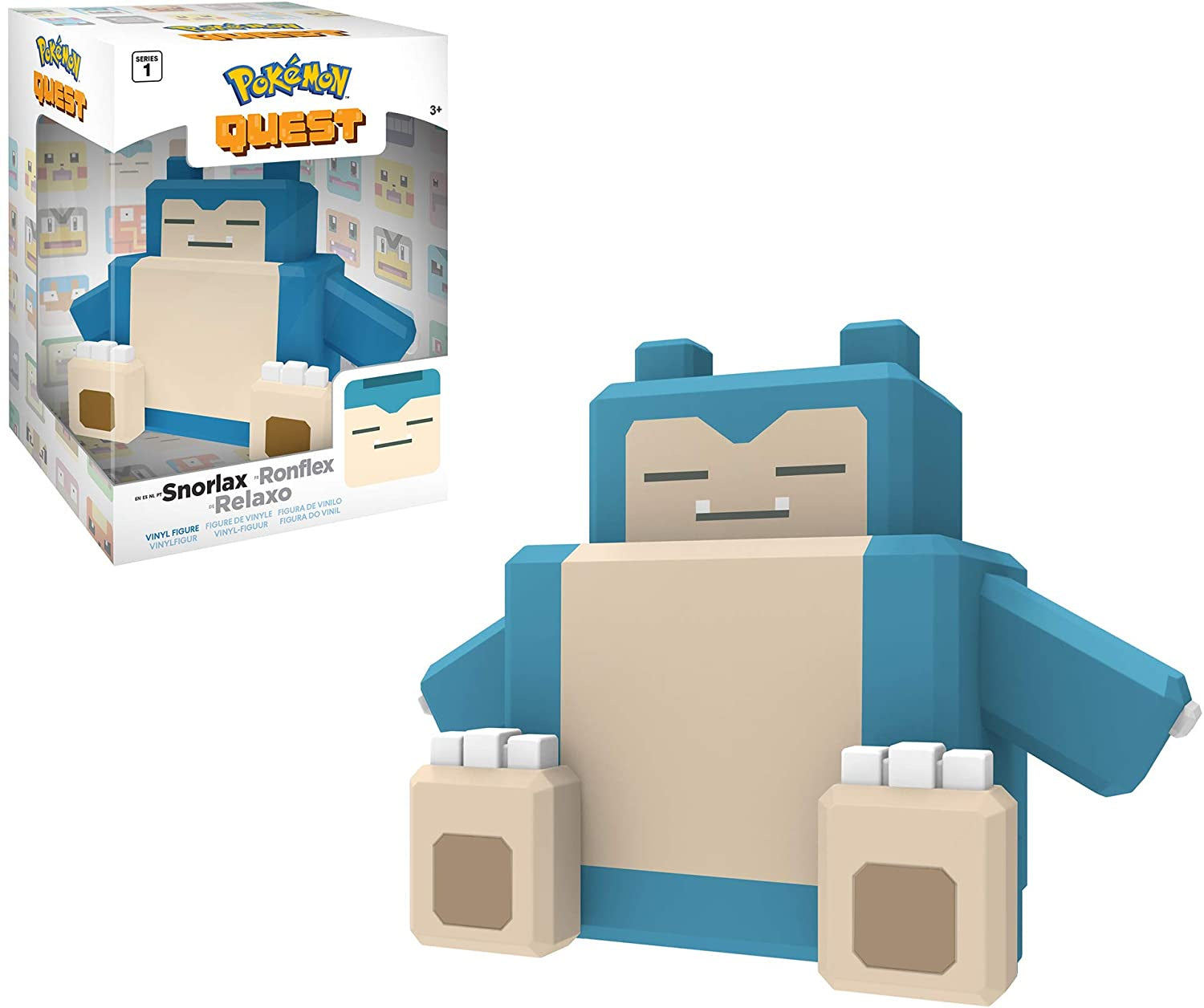 "Pokemon 4"" Vinyl Figure Snorlax"
