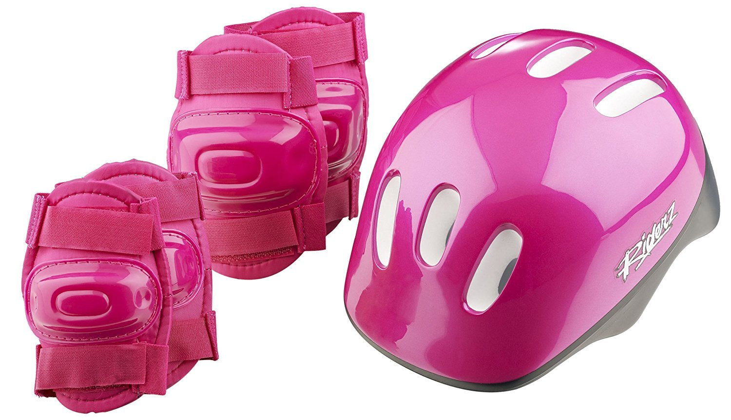 Helmet & Pad - Girls Pink