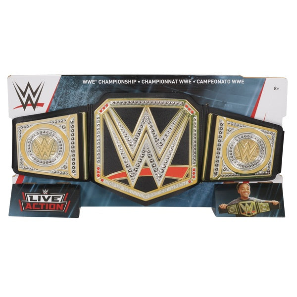 WWE World Championship Belt Black