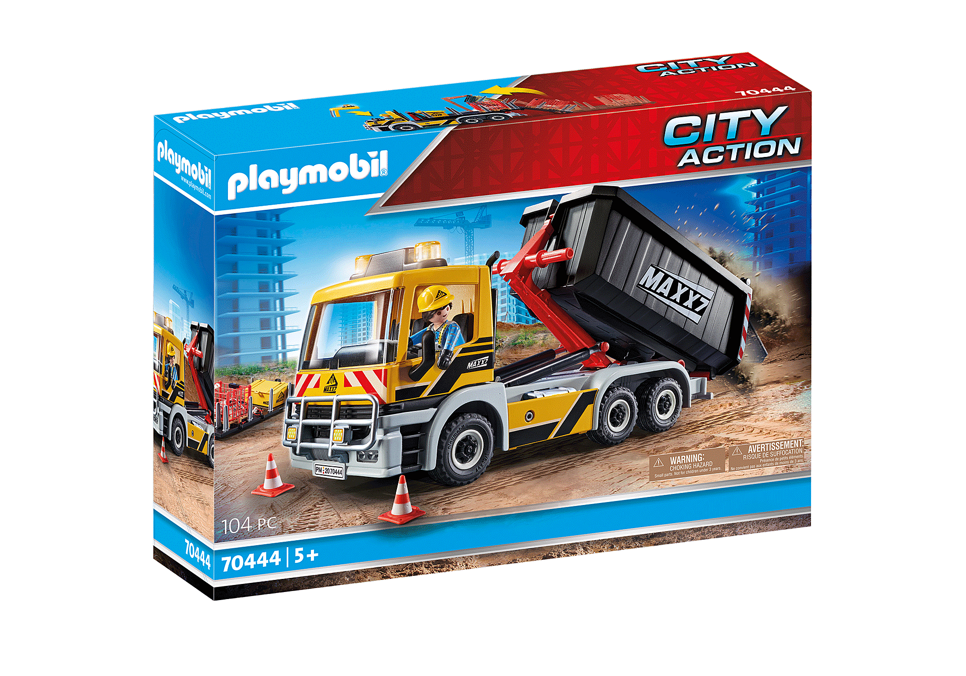 Playmobil City Action 70444 Interchangeable Truck