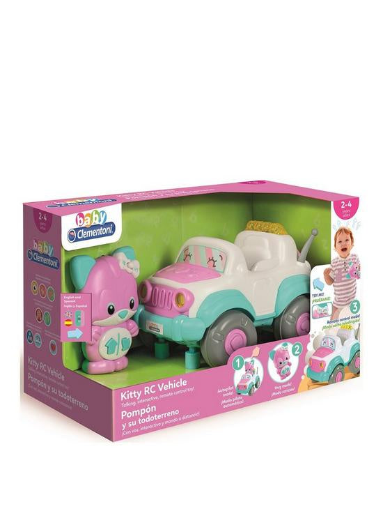 Baby Clementoni Kitty Remote Control Vehicle