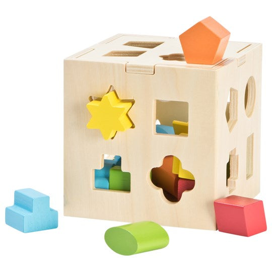 First Learning Wooden Shape Sorter