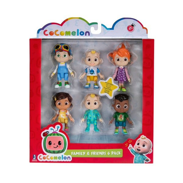 CoComelon Family Friends 6 Figure Pack
