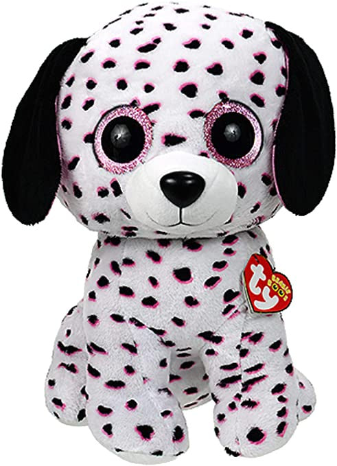 TY Georgia Dalmation Beanie Boo Medium Soft Toy