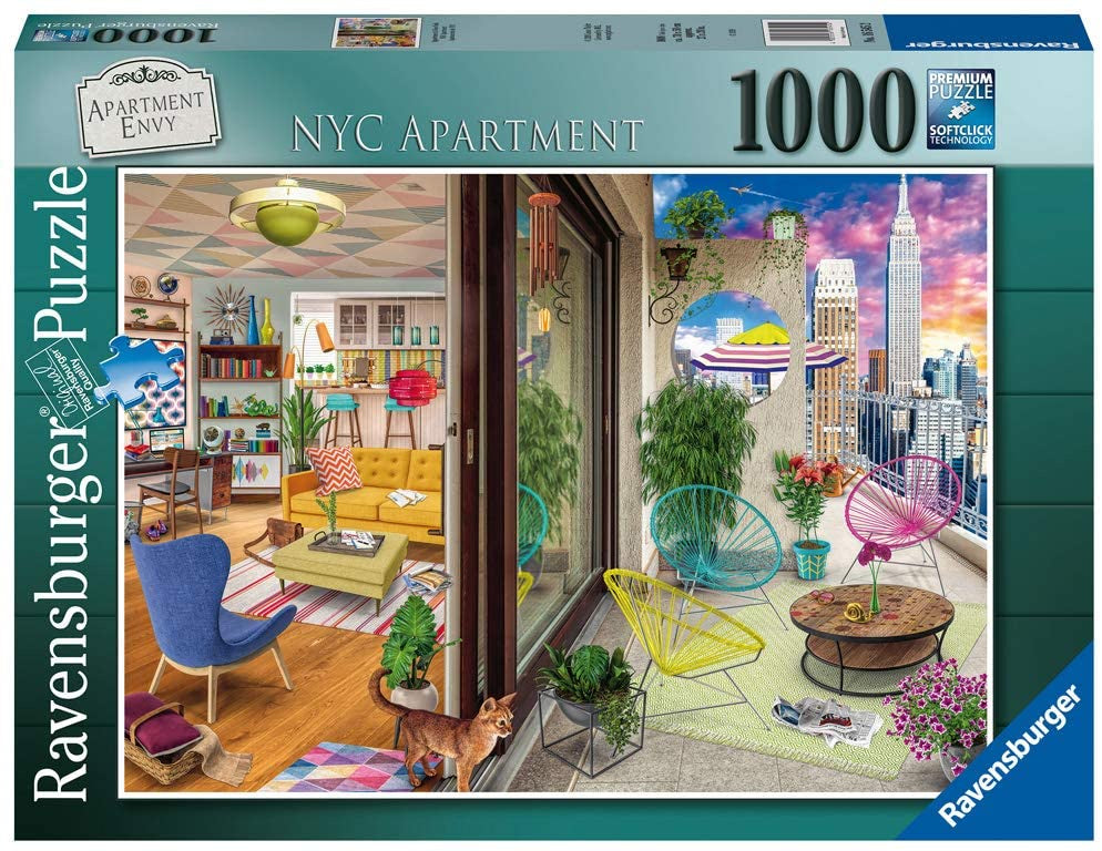 Ravensburger NYC Apartment Vision 1000pc Jigsaw Puzzle