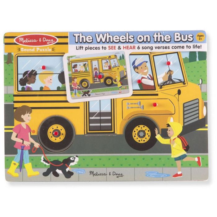 Melissa & Doug See And Hear Sound Puzzle