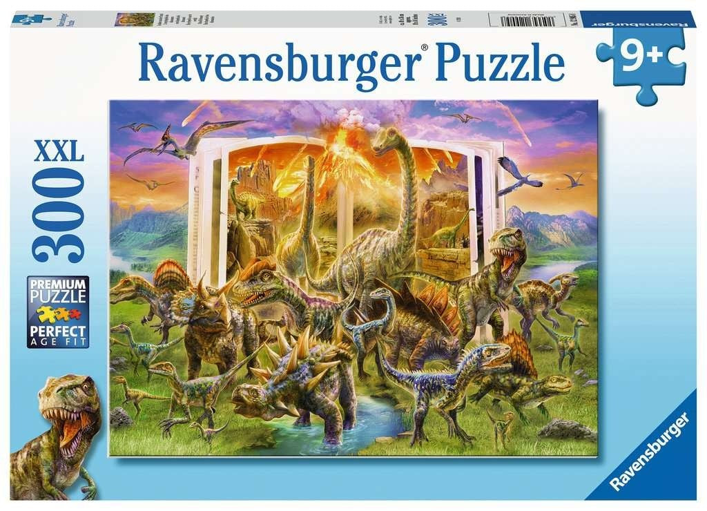 Ravensburger Dino Dictionary 300pc Jigsaw Puzzle