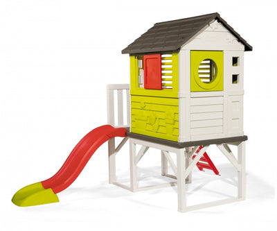 Smoby House on Stilts with Slide