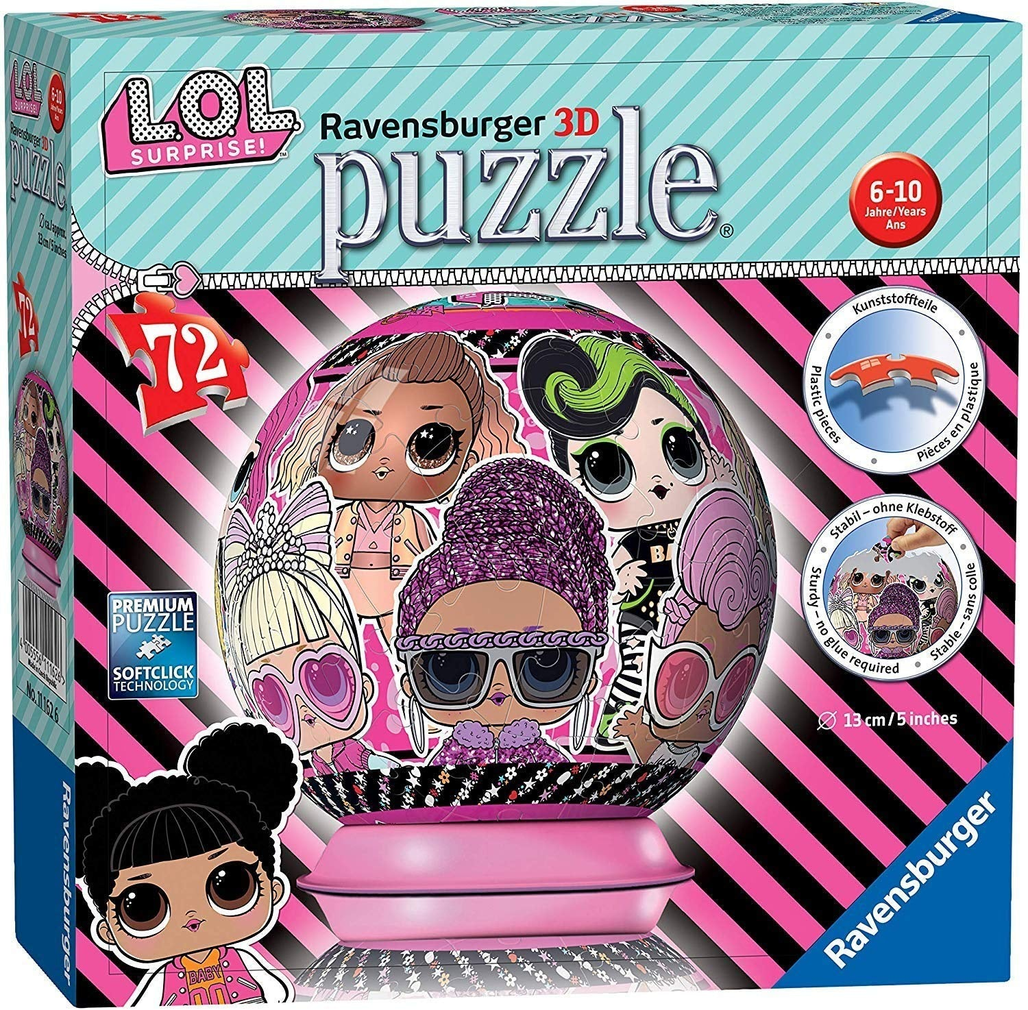 LOL Surprise! 3D jigsaw Puzzle