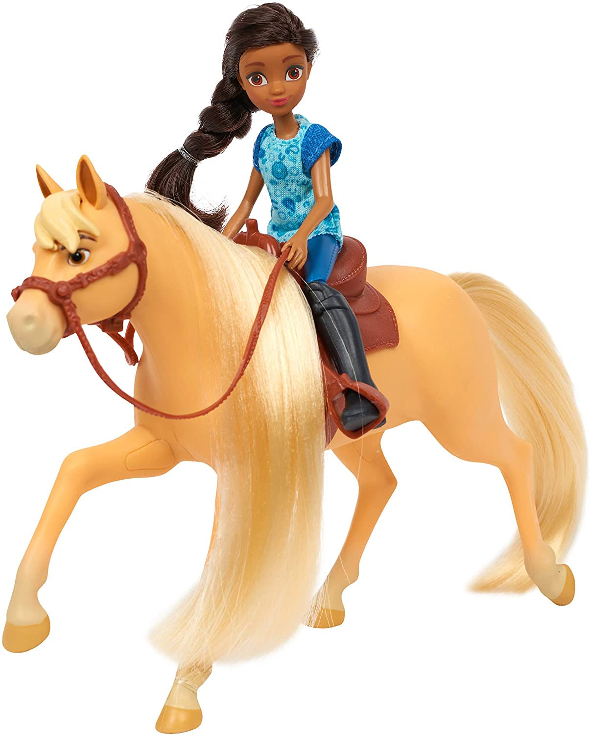 Dreamworks Spirit Small Doll And Horse Pru And Chica Linda