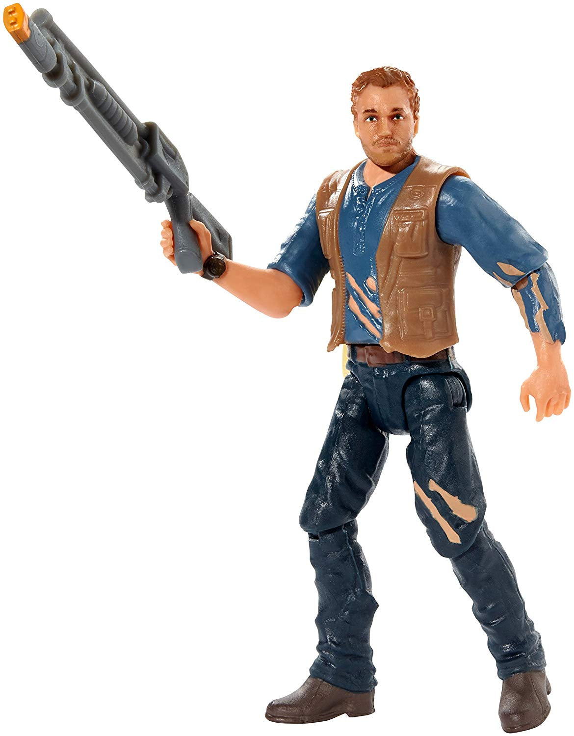 Jurassic World Basic Figure Lockwood Battle Owen