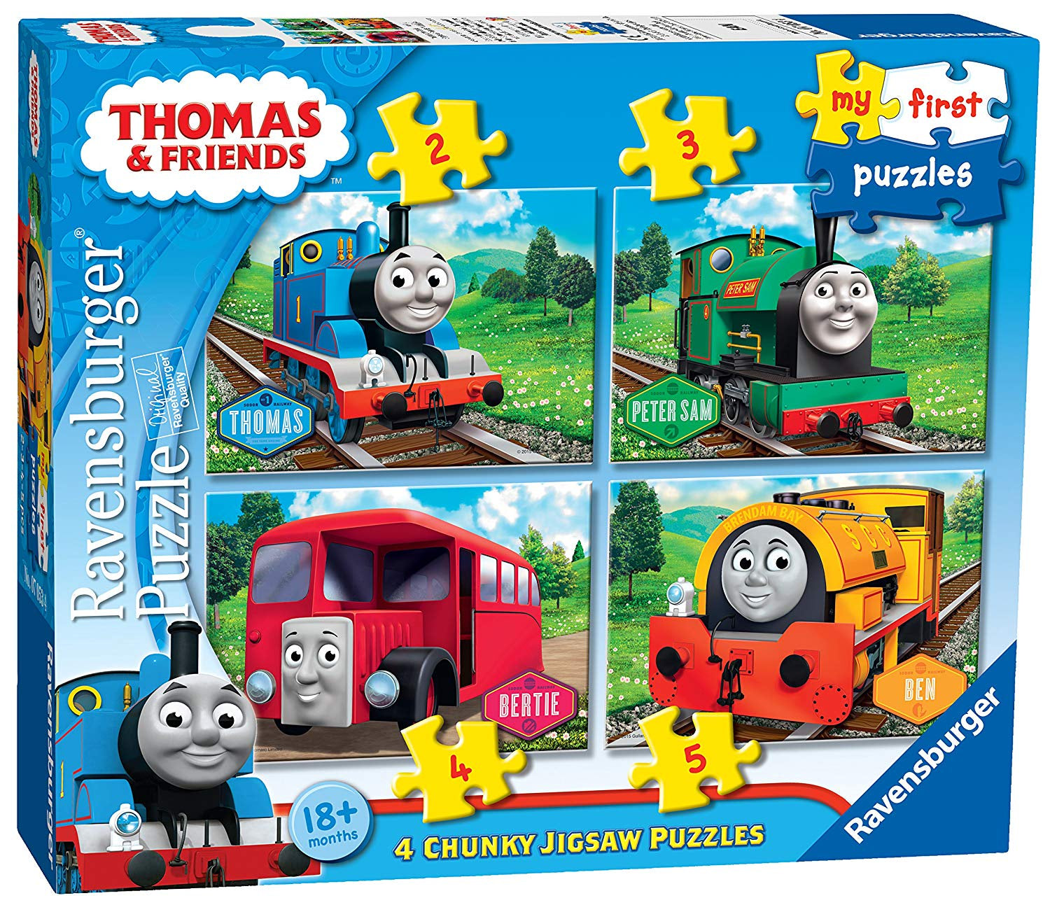Thomas & Friends My First Puzzles Jigsaw Puzzles