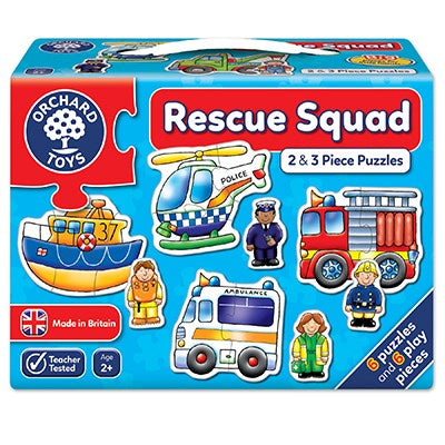 Orchard Toys Rescue Squad Jigsaw Puzzles