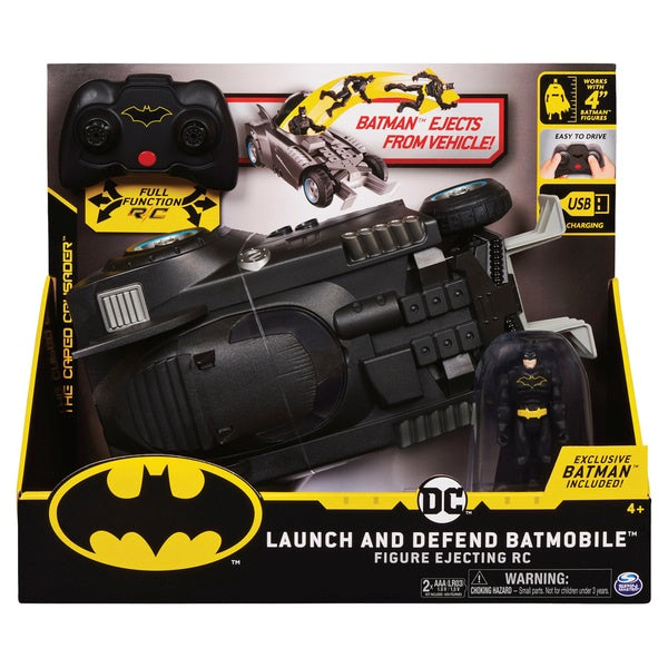 Batman Launch And Defend Batmobile Radio Control Vehicle