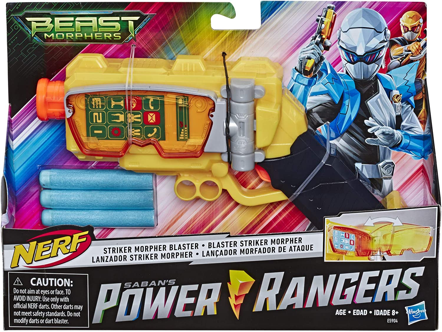 Power Rangers Nerf Striker Morpher Blaster