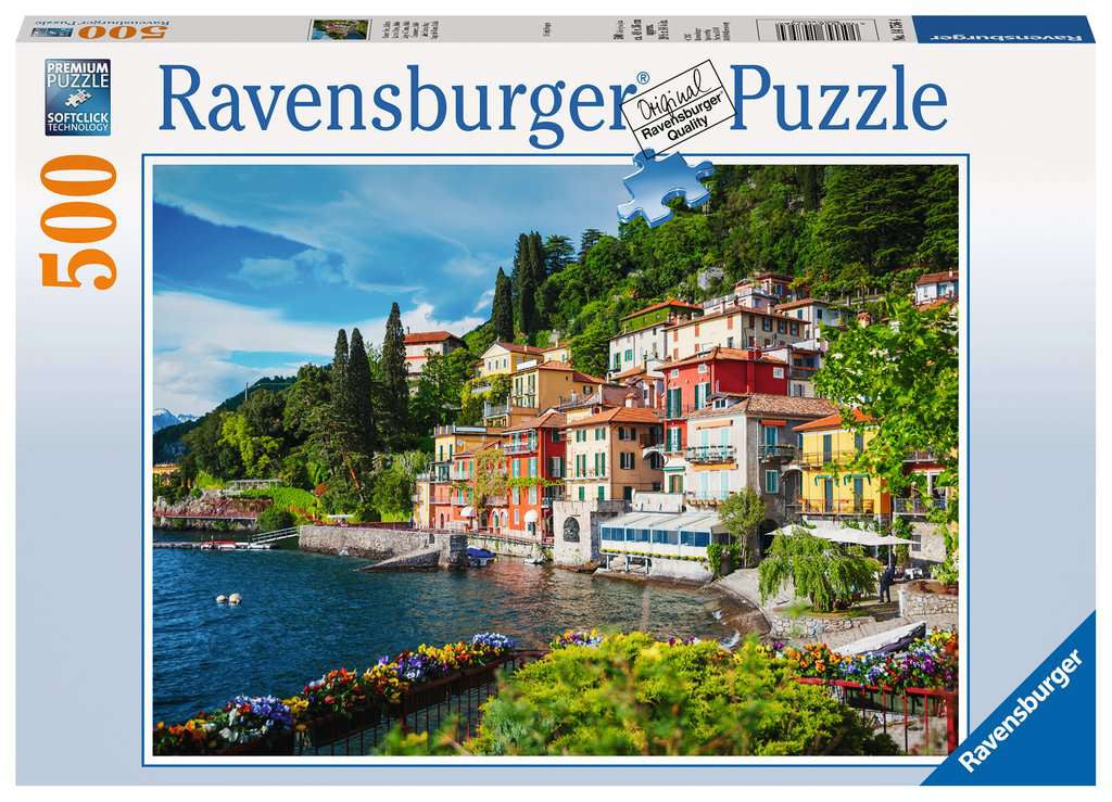 Ravensburger Lake Como 500pc Jigsaw Puzzle