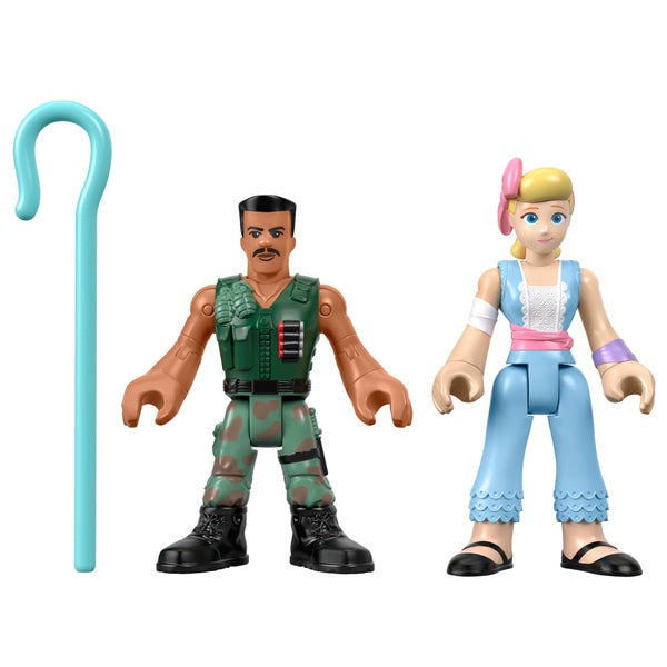 Imaginext Toy Story 4 Combat Carl & Bo Peep