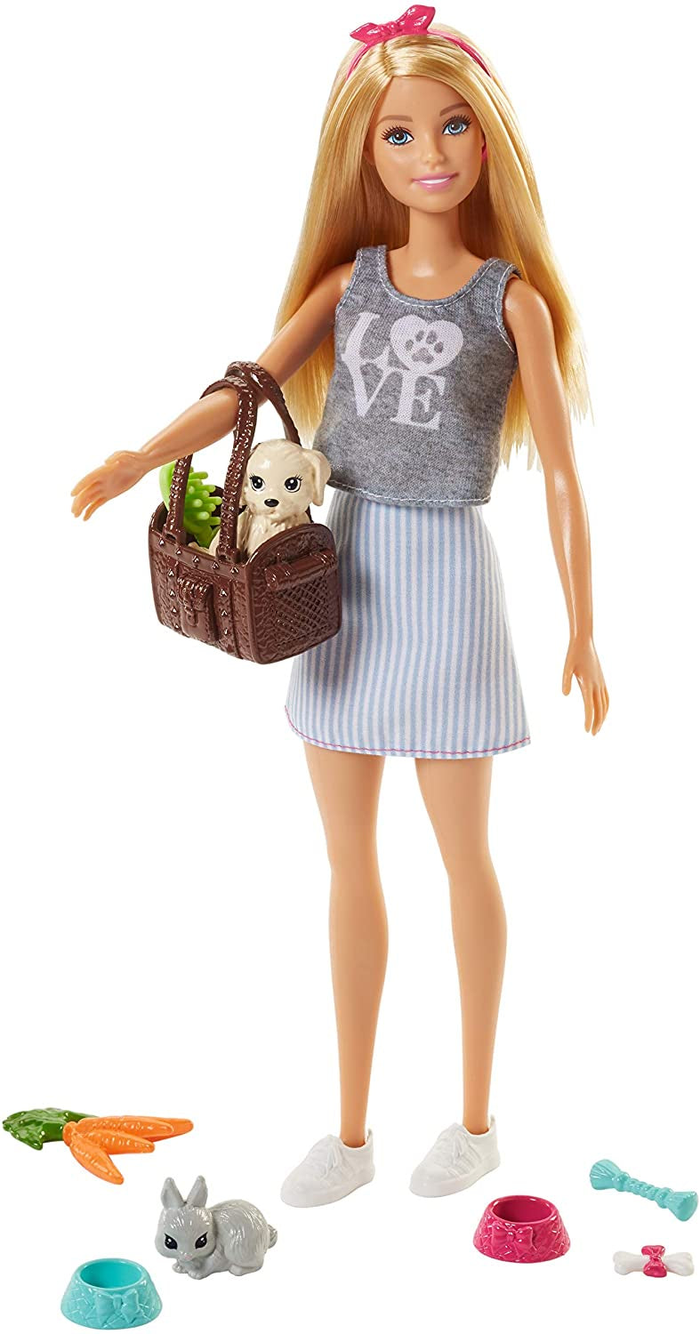 Barbie Doll with Pet And Accessories