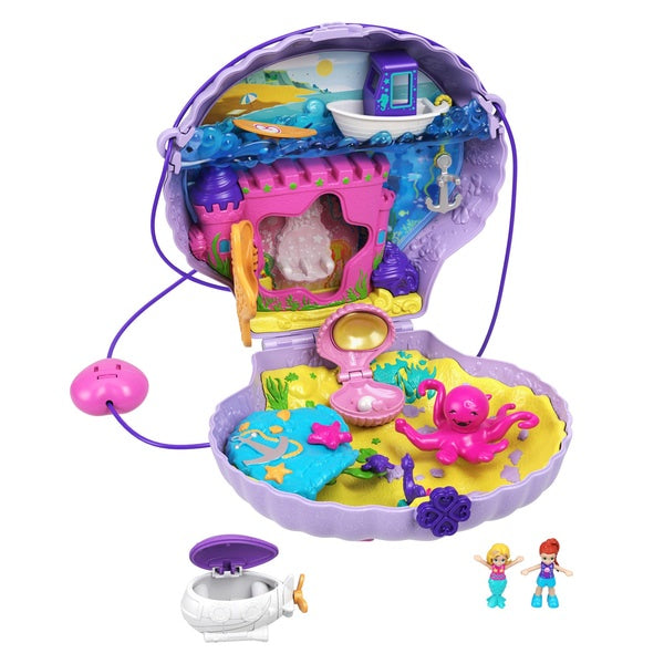 Polly Pocket Tiny Power Large Wearable Seashell Purse