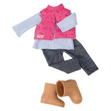 Our Generation Clothing Set Trekking Star