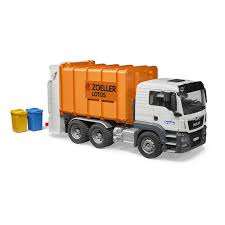 Bruder 03762 MAN TGS 26.500 Rear Loading Garbage Truck