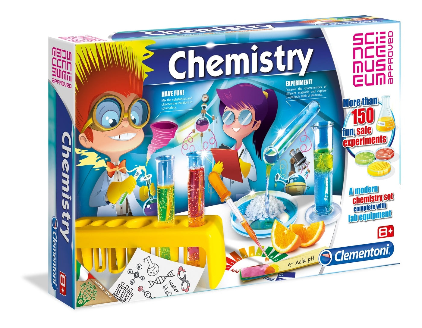 Clementoni Science Museum Chemistry Set