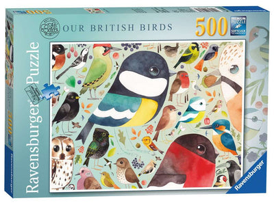 Ravensburger Sewells's British Birds 500pc Jigsaw Puzzle