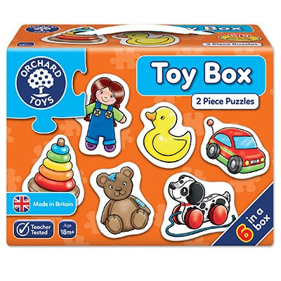 Orchard Toys Toy Box Jigsaw Puzzles
