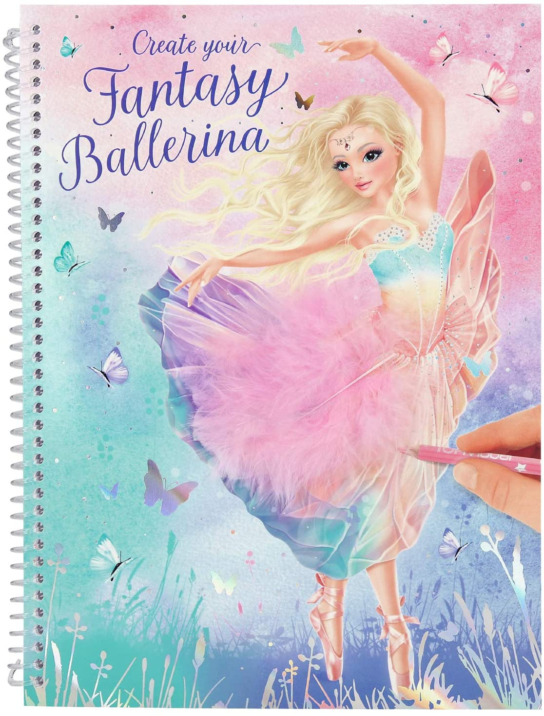 TOPModel Create Your Own Fantasy Ballerina Book
