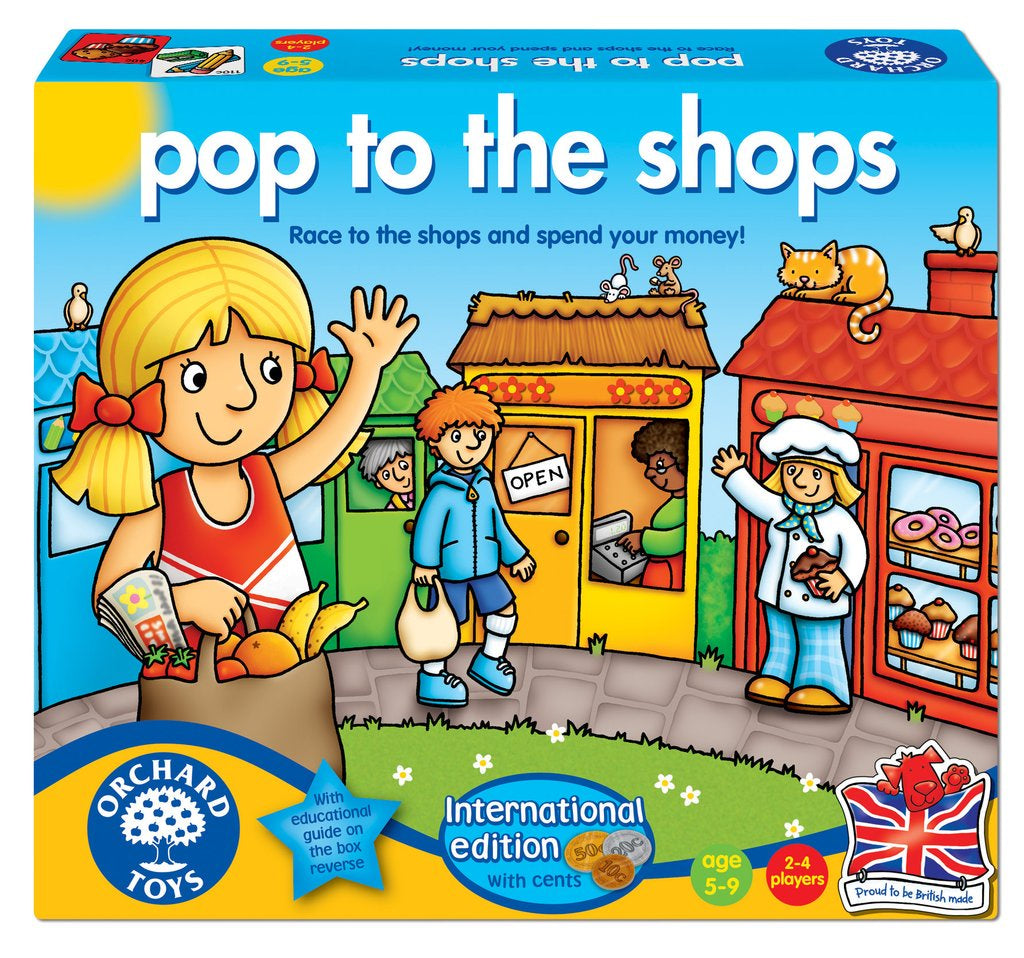 Orchard Toys Pop to the Shops Game International Edition