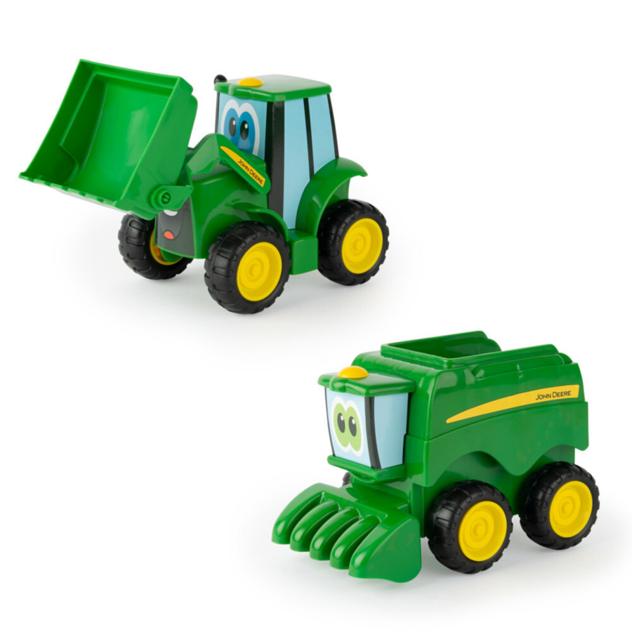 Tomy John Deere Farmin' Friends Farm Vehicle Playset